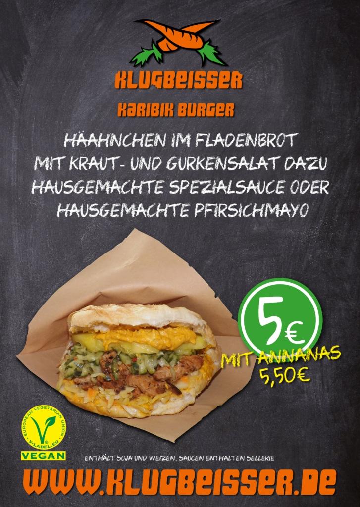 KLUGBEISSER Karibik Burger